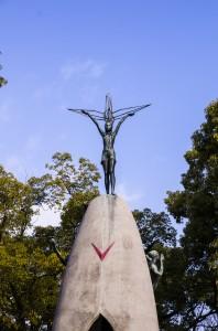 Sadako's memorial in Hiroshima