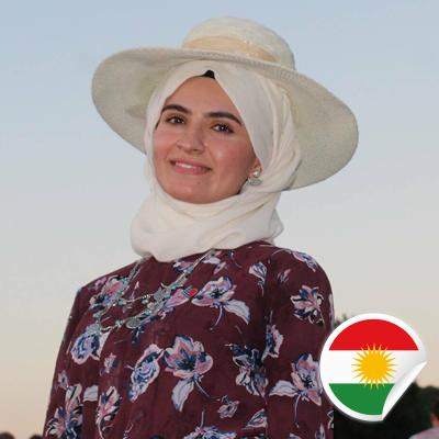 Rozhgar A Shawkat - Postcards For Peace Ambassador