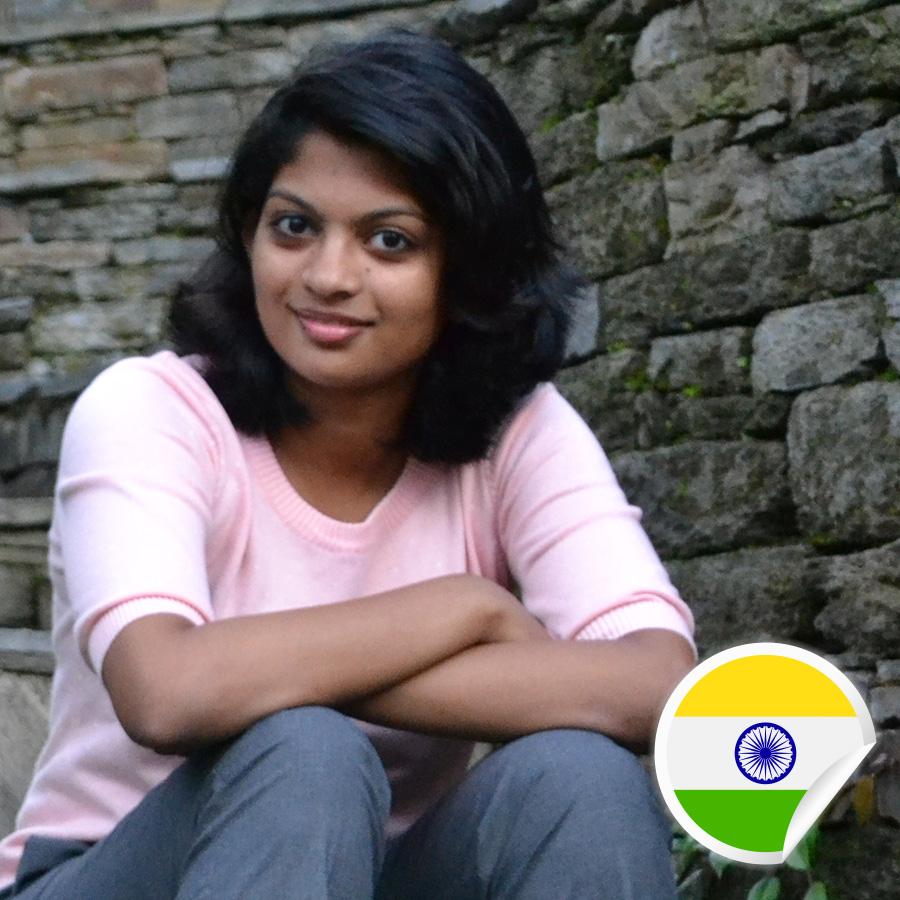 Shrinidhi Narasimhan - Postcards For Peace Ambassador