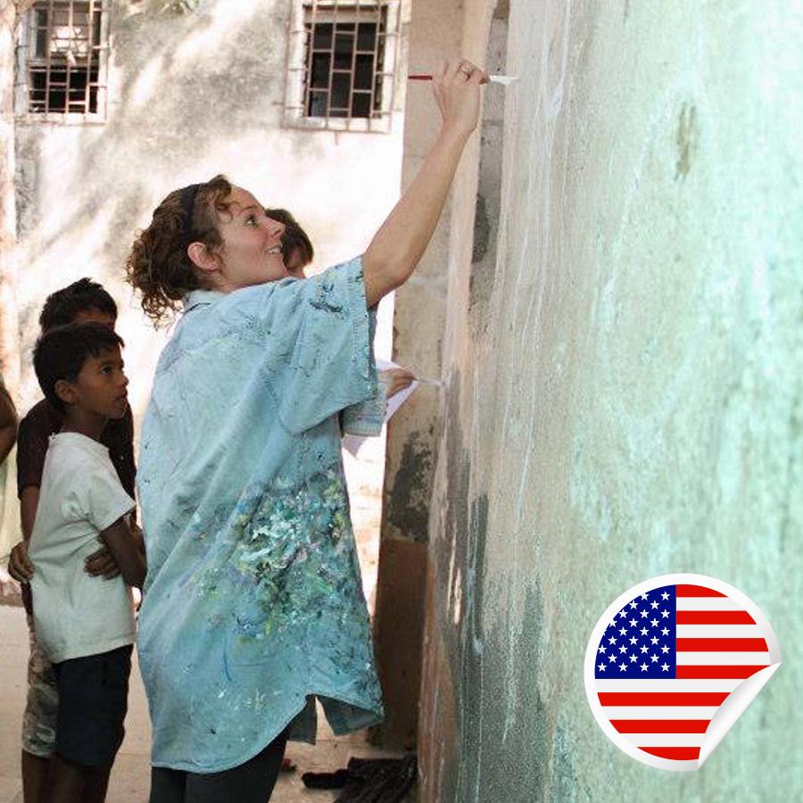 Ellie Cross - Postcards For Peace Ambassador