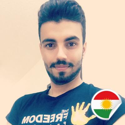 Hawraz Salih - Postcards For Peace Ambassador