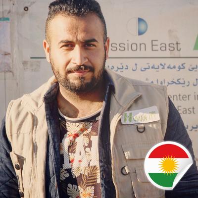 Kawa Saleh Xerki - Postcards For Peace Ambassador