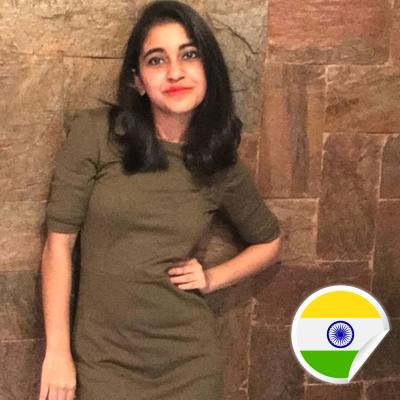 Prakshi Saha - Postcards For Peace Ambassador